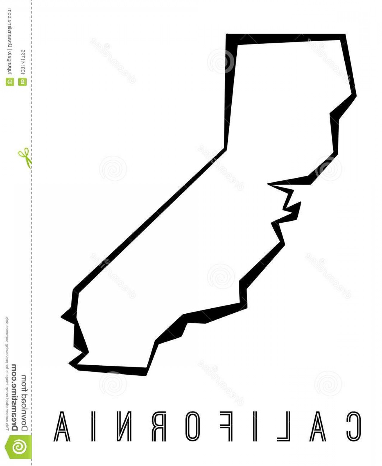 1278x1560 California State Outline Vector Arenawp