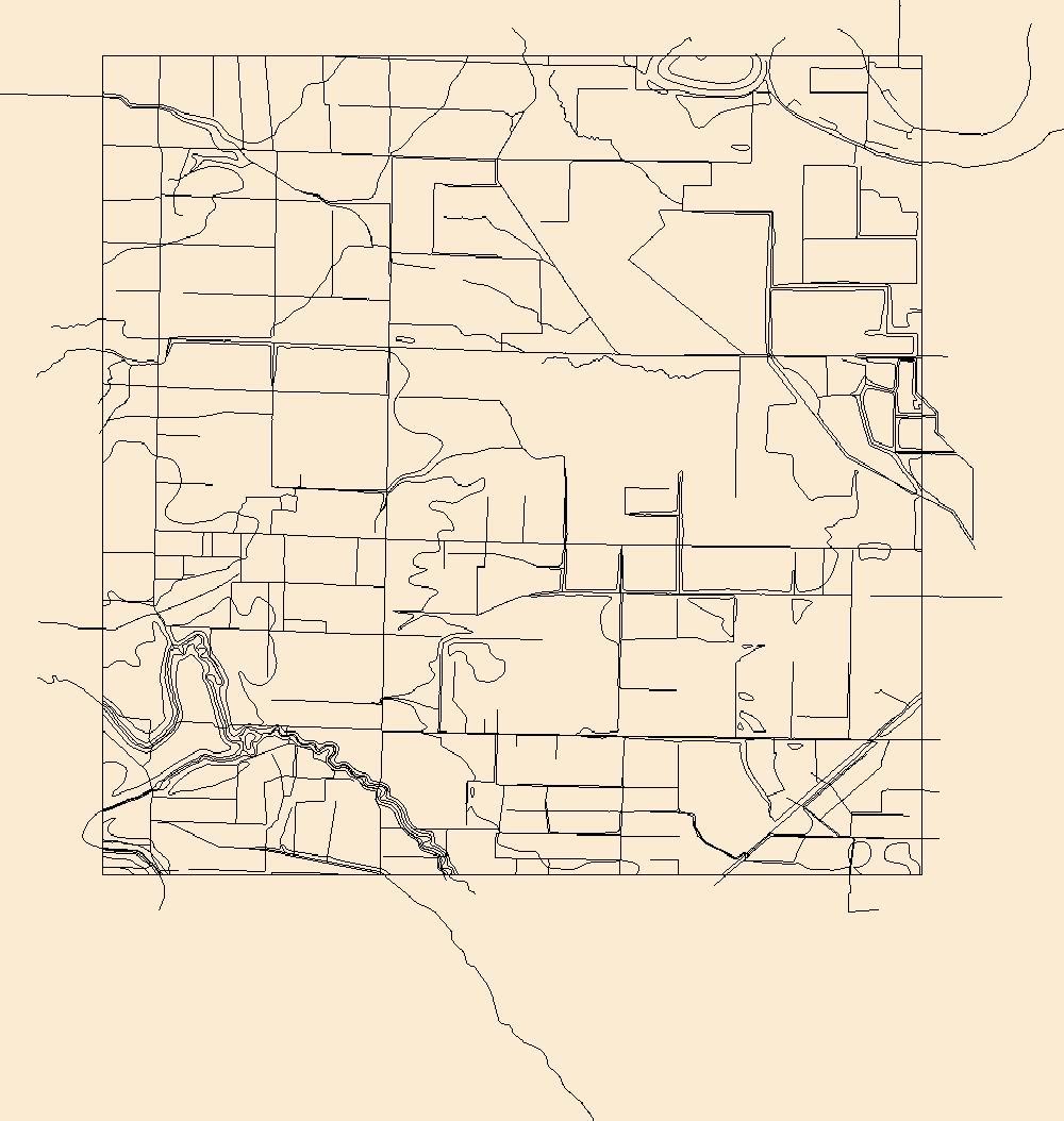 1000x1054 Usgs Topo Map Vector Data (Vector) 17132 Gethsemane, Arkansas