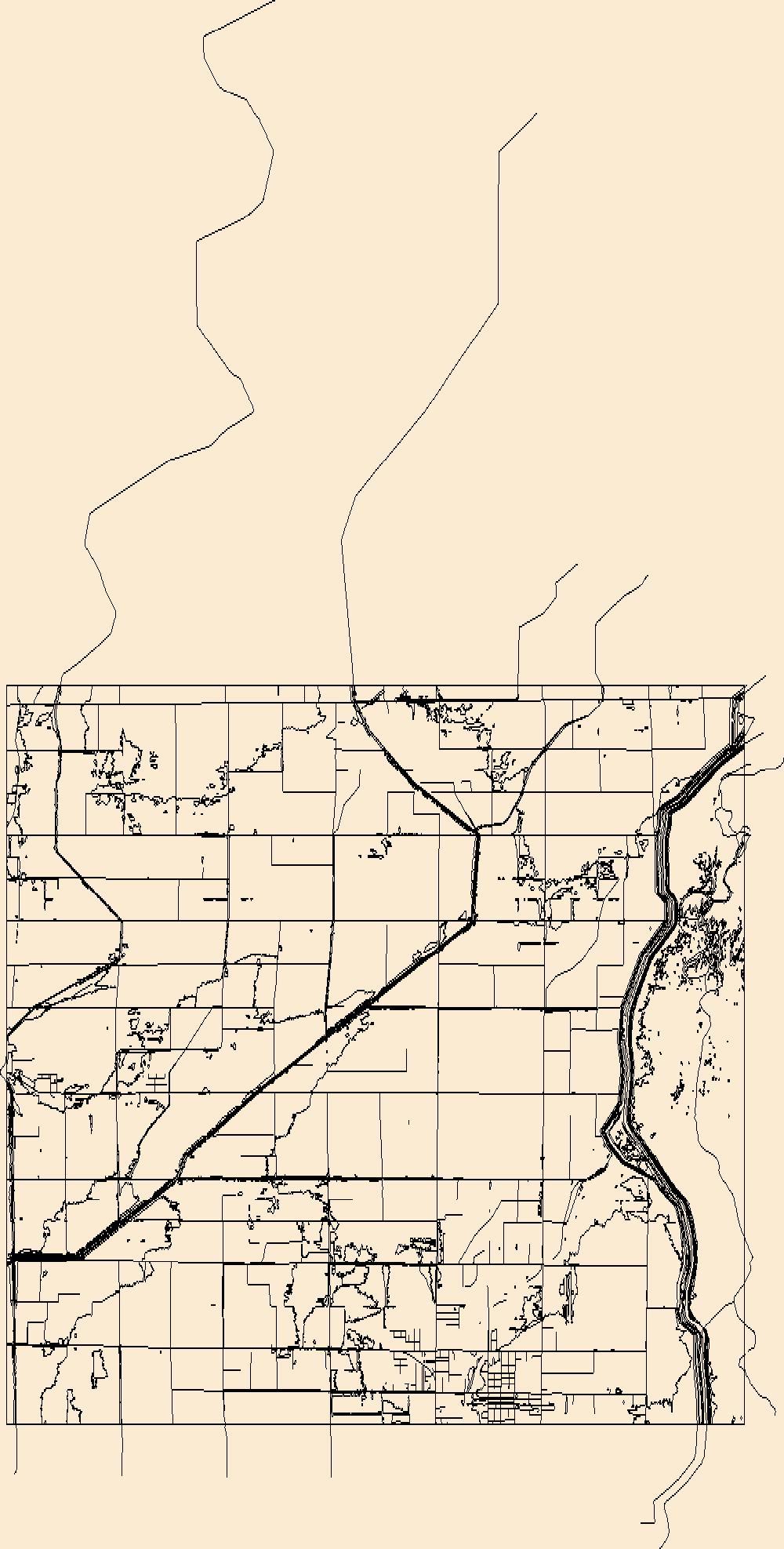 1000x1975 Usgs Topo Map Vector Data (Vector) 27469 Manila North, Arkansas