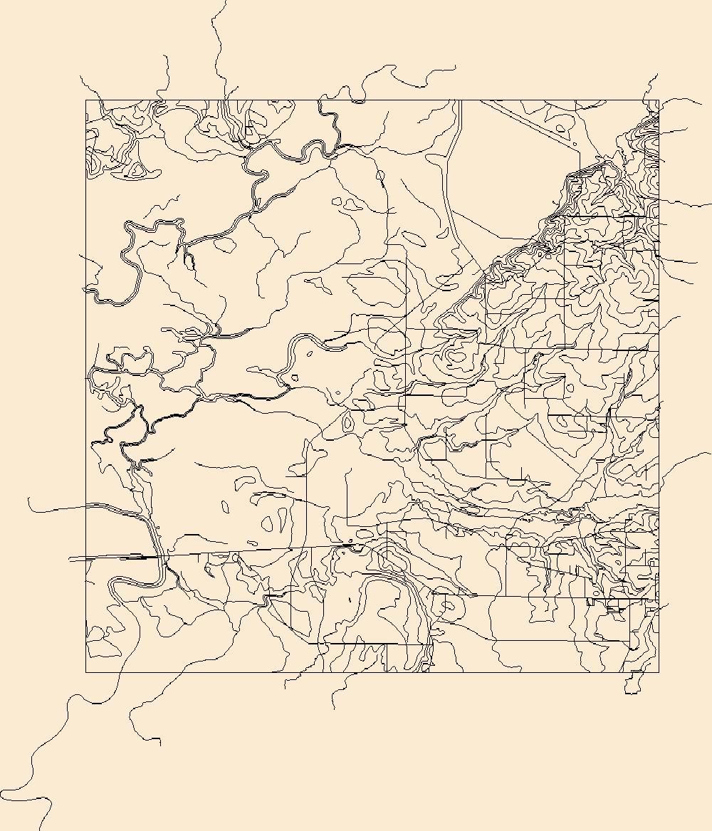 1000x1167 Usgs Topo Map Vector Data (Vector) 27612 Marais Saline, Arkansas