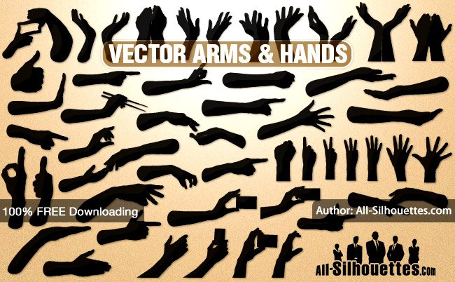 650x402 Free 43 Vector Hands Amp Arms Psd Files, Vectors Amp Graphics