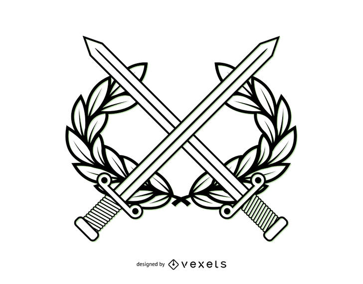 728x570 Line Art Military Coat Of Arms