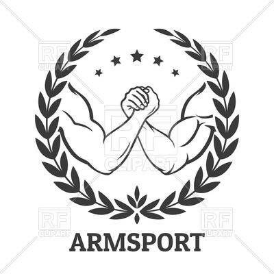 400x400 Arm Wrestling Emblem