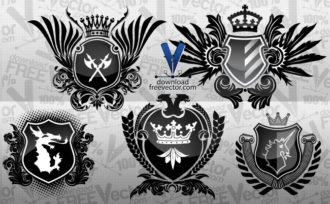 650x402 Coat Of Arms Free Vector 4vector
