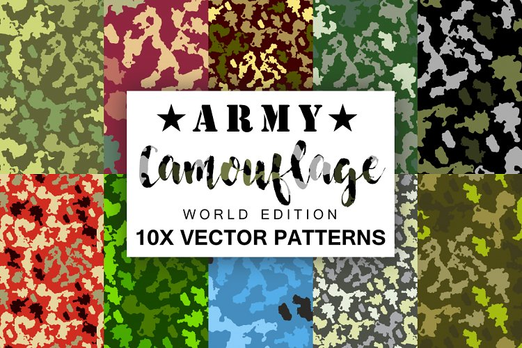 Army Camouflage Vector