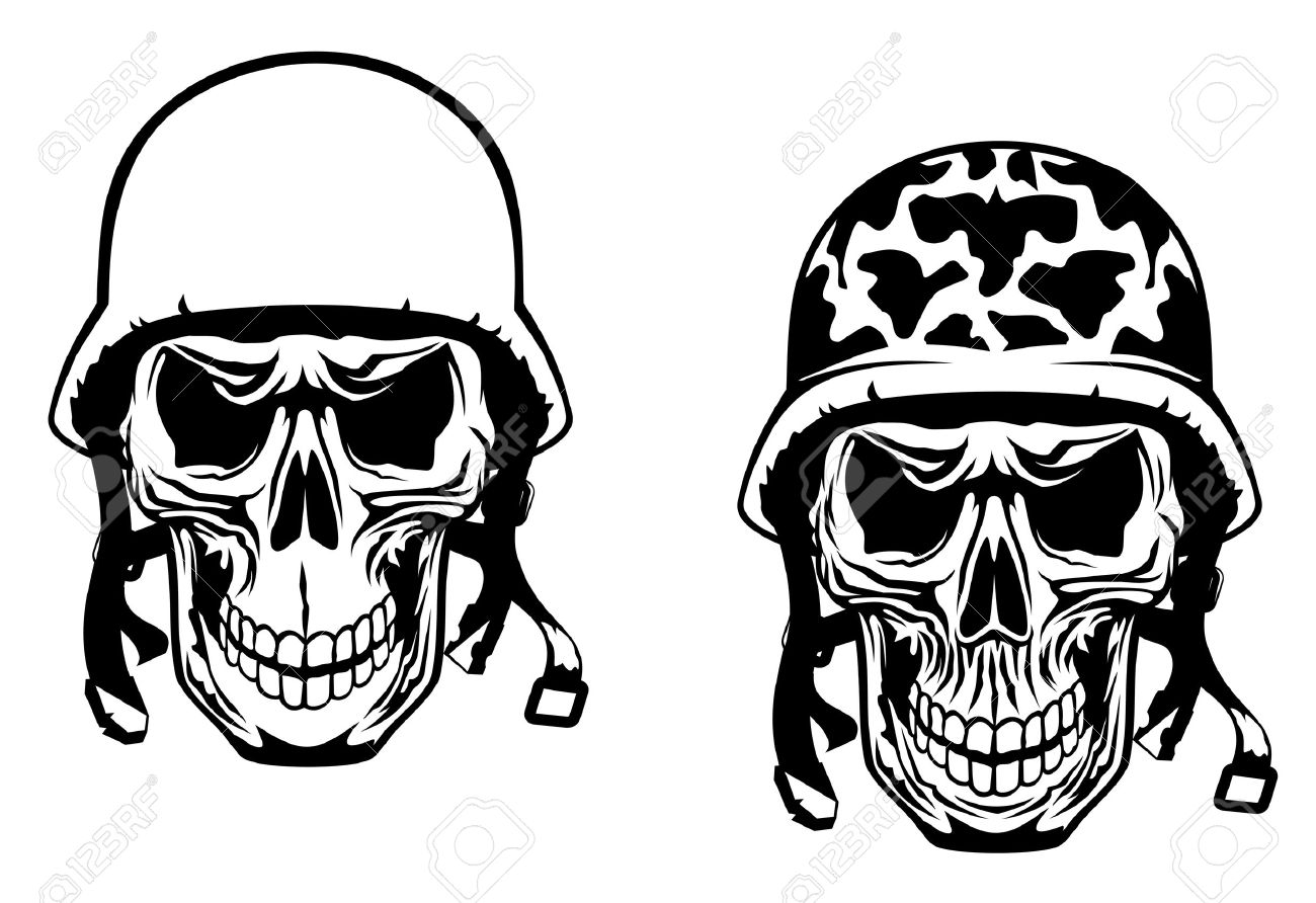 1300x892 Army Helmet Clipart Black And White