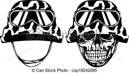 450x255 Marine Clipart Helmet