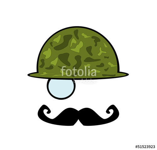 500x477 Man Wearing Vintage Army Helmet Stock Image And Royalty Free