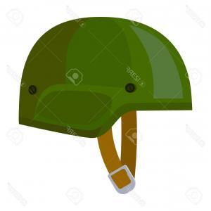 300x300 Army Helmet Icon In Cartoon Style Isolated On Vector Sohadacouri