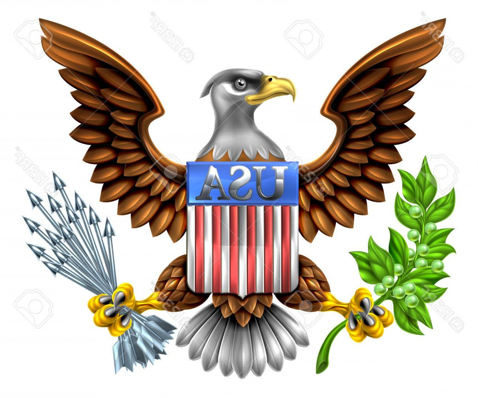 1560x1300 Photostock Vector American Eagle Design With Bald Eagle Like That