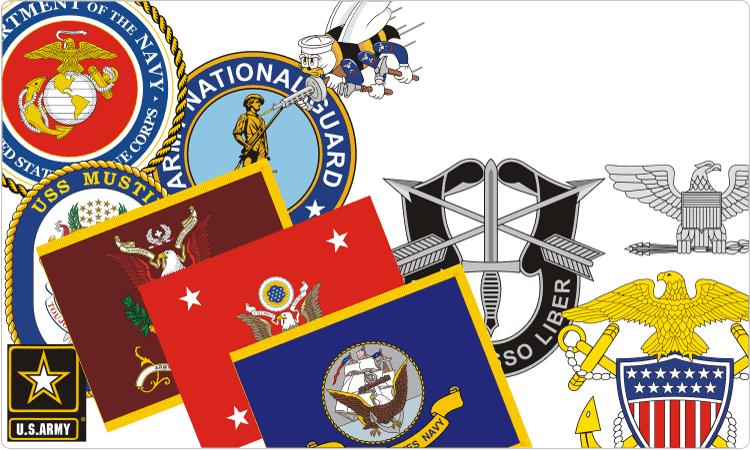 750x450 U.s. Military Insignia
