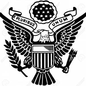 300x300 Us Army Emblem Flag Of United States Military Vector Lazttweet