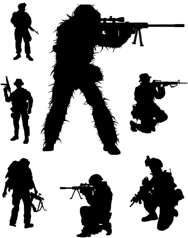 Army Vector Art