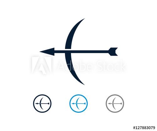 500x417 Circle Curve Arrow Arrowhead Vector Icon Logo Design