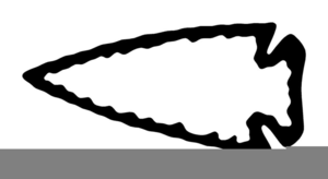 300x164 Indian Arrowhead Clipart Free Free Images