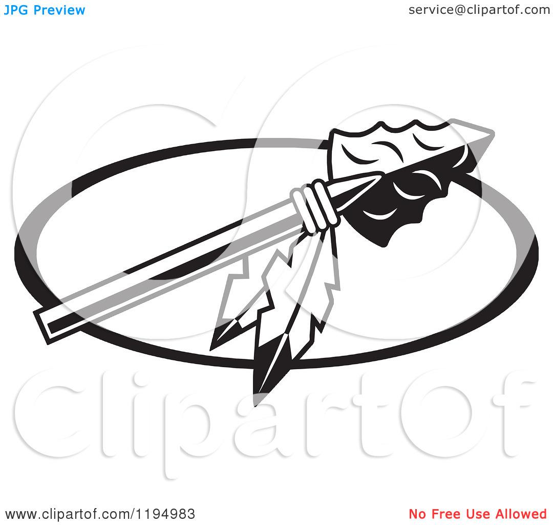 1080x1024 Indian Arrowhead Clipart