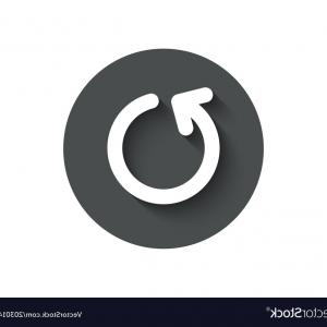 300x300 Loop Arrow Simple Icon Refresh Arrowhead Vector Lazttweet