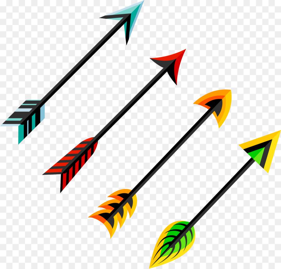 900x860 Feather Arrow Euclidean Vector Clip Art