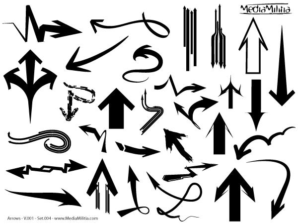 600x450 Free Arrows Free Vector Set 4 Psd Files, Vectors Amp Graphics