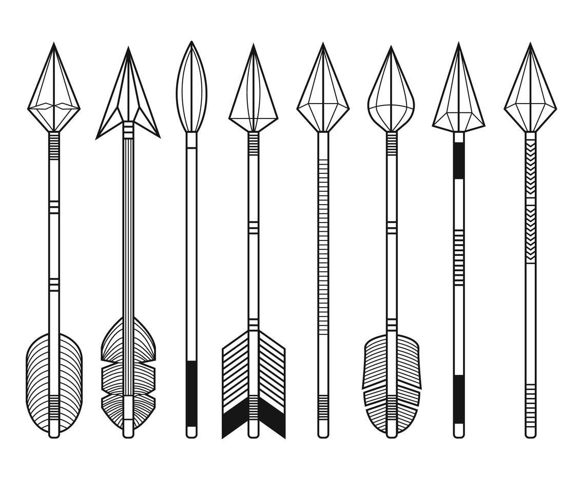 1136x936 Free Vintage Arrows Vector Vector Art Amp Graphics