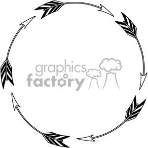 300x300 Royalty Free Circle Arrow Design Vector Art 403317 Vector Clip Art