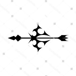 300x300 Tattoo Vector Art Arrow Silhouette Simple Lazttweet