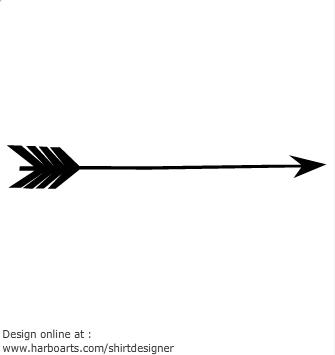 335x355 Arrow Vector Clipart