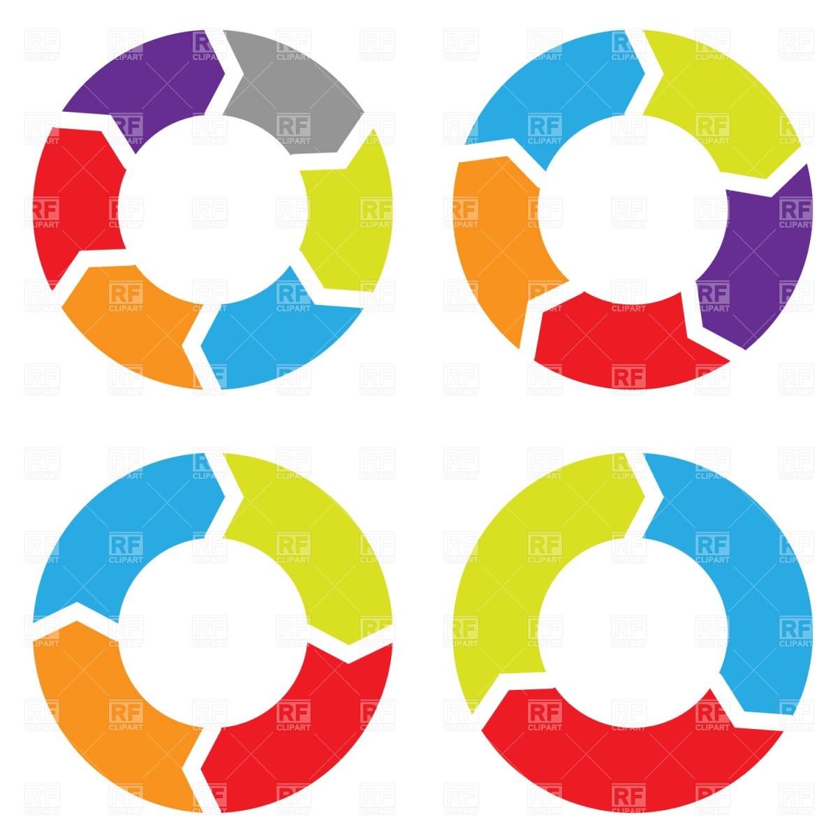 1200x1200 Arrow Circles Vector Image Vector Artwork Of Business, Finance