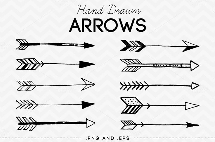 736x489 Arrow Vector Download Tribal Black And White