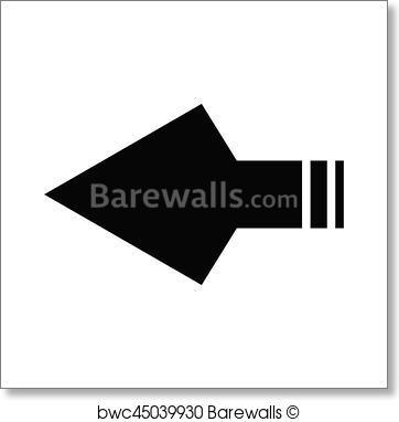 362x382 Art Print Of Arrowhead Barewalls Posters Amp Prints Bwc45039930