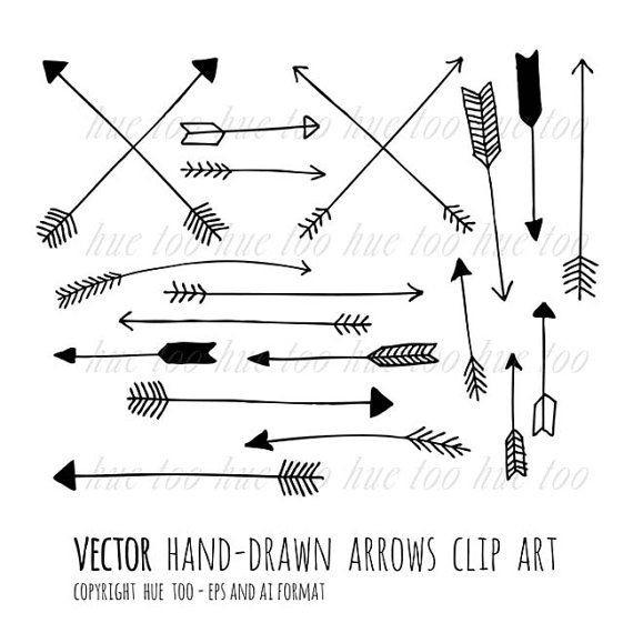 570x570 Arrowhead Clipart New Vector Arrows Clip Art Tribal Arrow Clipart