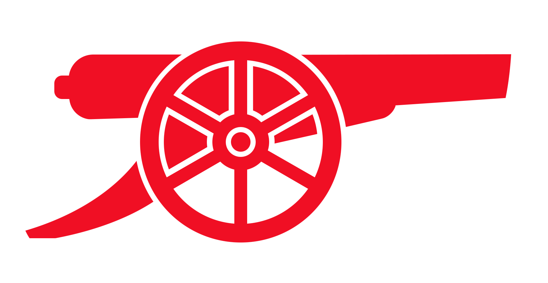 1796x929 Official Club Crest Cannon Ink Cannon, Arsenal And