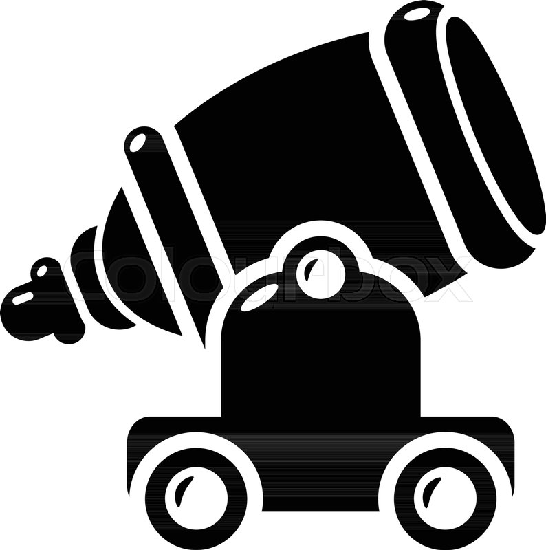 794x800 Ancient Cannon Icon. Simple Illustration Of Ancient Cannon Vector