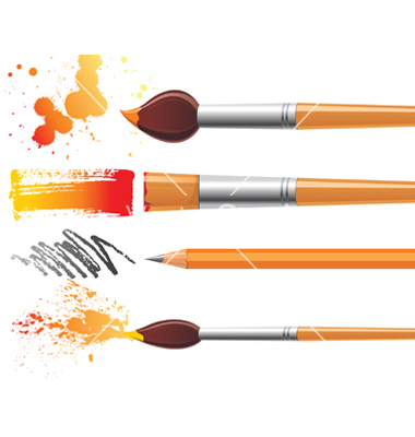 Art Brush Vector
