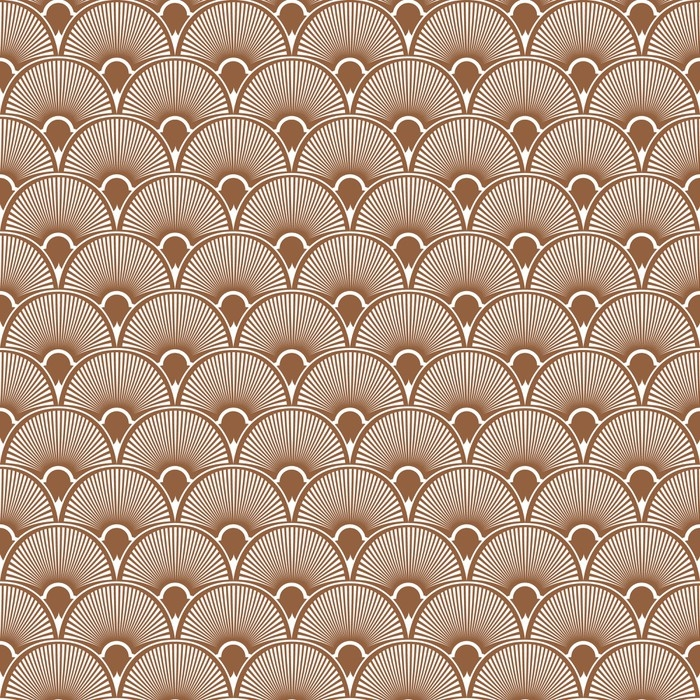 700x700 Art Deco Seamless Pattern Background. Vector Wall Mural Pixers