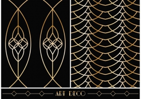 285x200 Art Deco Pattern Free Vector Graphic Art Free Download (Found