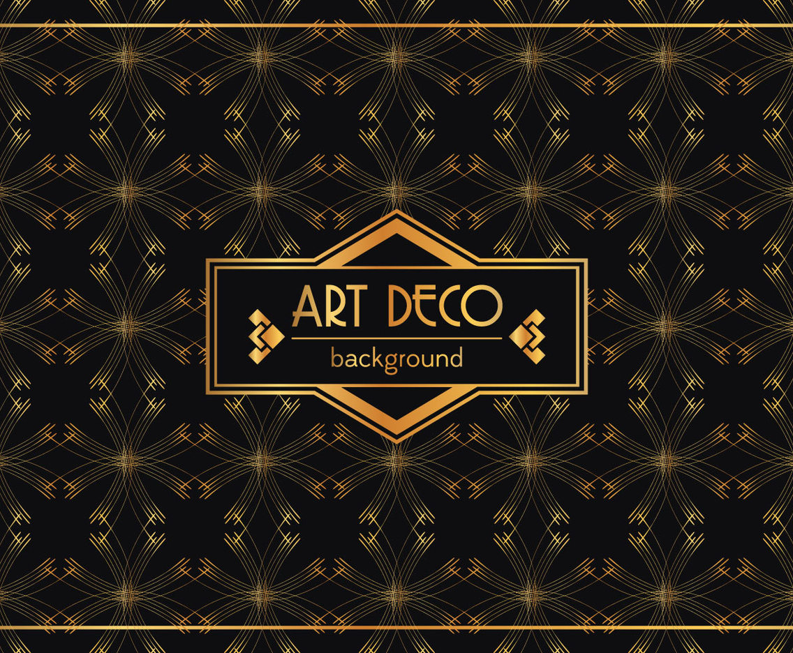 1136x936 Art Deco Background Vector Art Amp Graphics