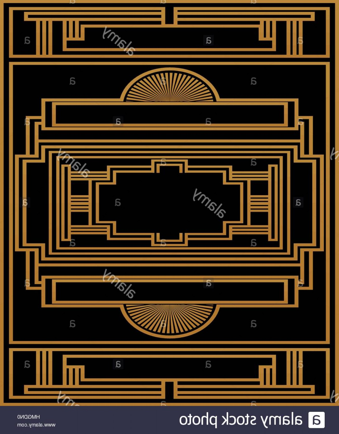 1305x1668 Stock Photo Two Color Pattern With Art Deco Frame Vector