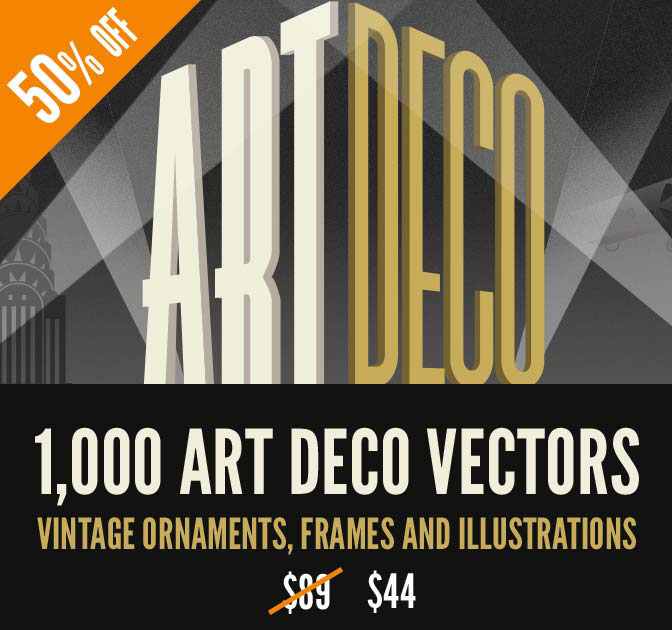 Art Deco Vector