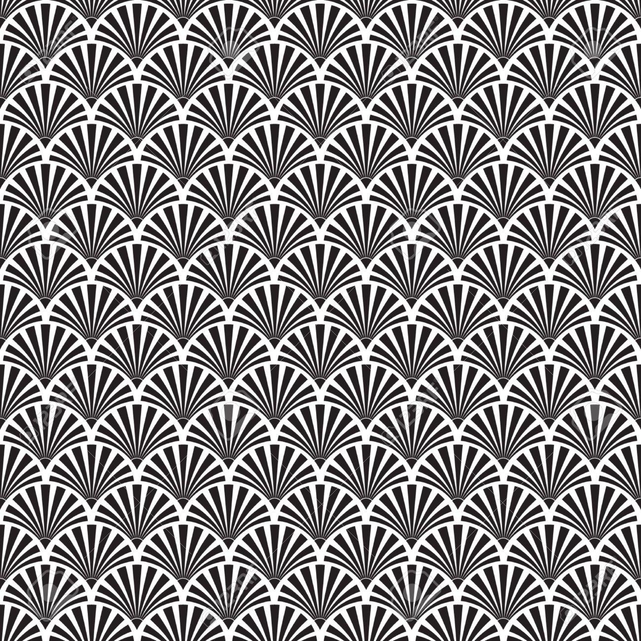 1300x1300 Art Deco Vector Pattern