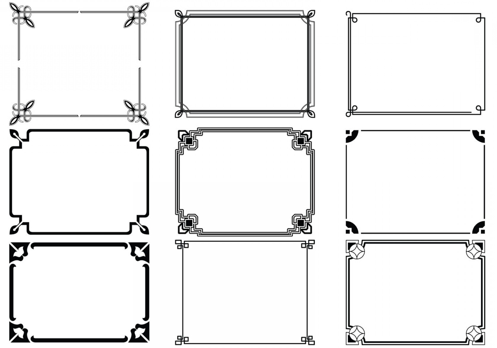 1680x1176 Art Deco Geometric Vector Patterns Shopatcloth