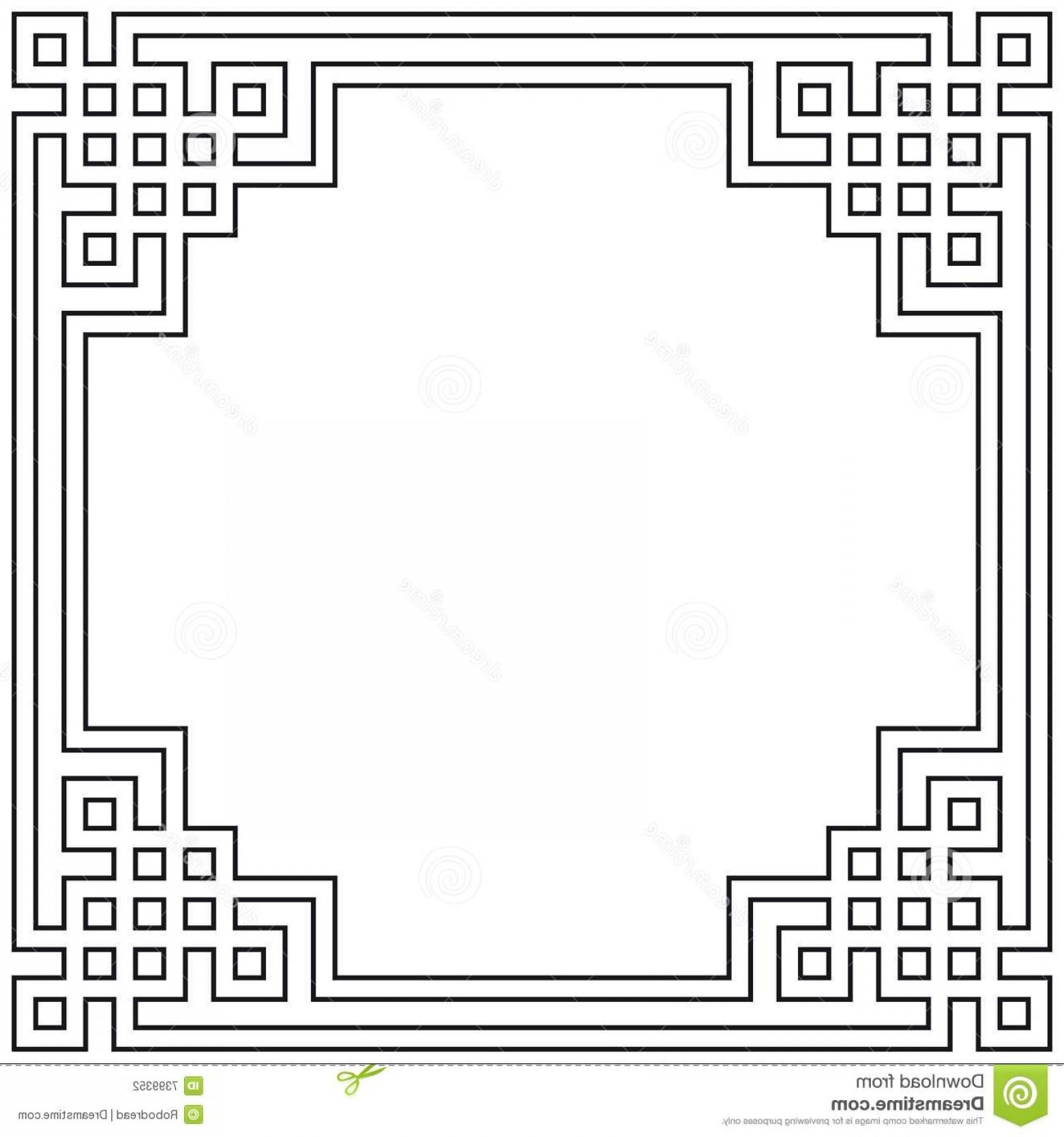 1560x1668 Geometric Art Deco Vector Borders Geekchicpro