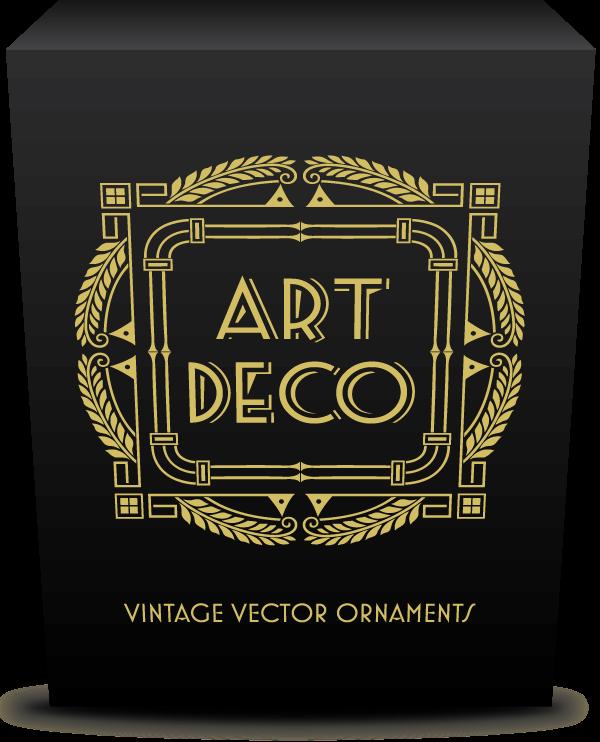 600x742 Ultimate Art Deco Vector Pack 275 Decorative Frames, 70