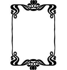 236x248 Art Deco Vector Frame