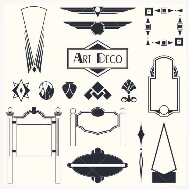 Art Deco Vector Free At Getdrawings Com Free For Personal
