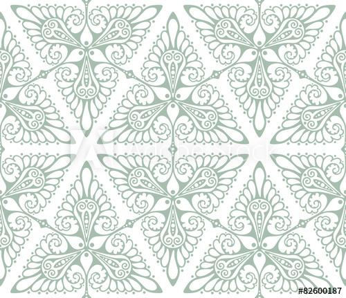 500x431 Art Nouveau Background Pattern