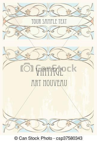 324x470 Art Nouveau Style Background.