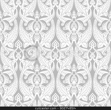 450x443 Vintage Art Nouveau Background Stock Vector