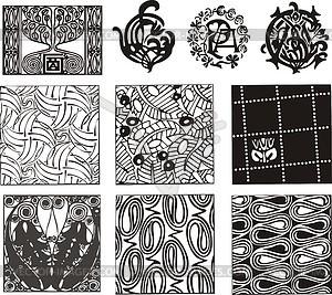 300x267 Art Nouveau Patterns