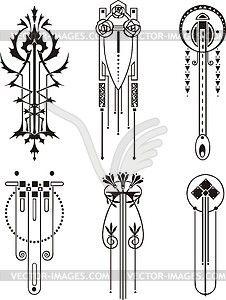 226x300 Art Nouveau Patterns
